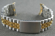 Vintage Metallarmband Bi-Color BA 20mm NOS (ungetragen)