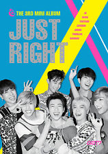 GOT7 JUST RIGHT 3nd Mini Album CD+Photobook+Random Photo Card Factory Sealed NEW