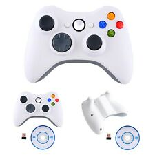 Wireless Game Controller Gamepad Joystick For PS3 Console White PC Gaming