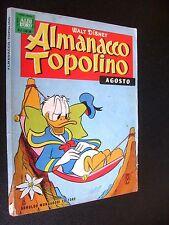 ALMANACCO TOPOLINO 1963 N°  8 - MOLTO BUONO -  CON FIGURINE
