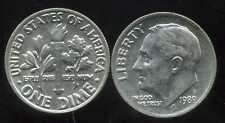 USA dime 10  cents  1989 P   ( bis )