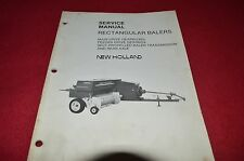 New Holland Square Baler Gearboxes & Transmission Service Manual CHPA