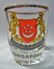 SINGAPORE SHOT GLASS SHOTGLASS