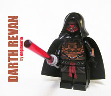 LEGO custom -- Darth Revan -- star wars sith mini figure vader maul sidious