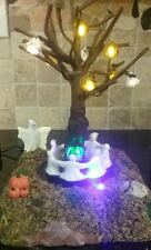 Lemax Spooky Town Ring Around The Tree #44103 Lighted & Animated Halloween