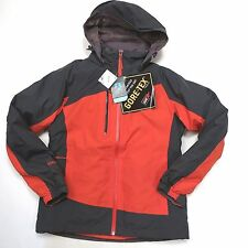 $300+ LL Bean Women's Gore-Tex and Down 3 in 1 Jacket Size Small Grey/Orange
