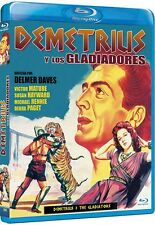 DEMETRIUS & THE GLADIATORS (1954 Victor Mature)  Blu Ray - Sealed Region free