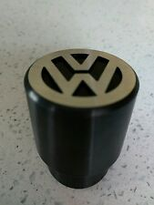 Vw gear knob lisse noir T2 T3 T25 Mk1 Mk2 golf caddy passat