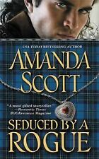 BUY 2 GET 1 FREE Seduced by a Rogue by Amanda Scott (2010, Paperback)