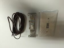 Low Voltage Millivolt Switch Kit for Gas Log Fireplaces