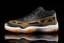 2015 Nike Air Jordan 11 XI Retro Low iE SZ 10 Croc Snakeskin Gum OG 306008-013