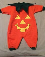 Teddy Bears Infant Pumpkin Costume Size Small