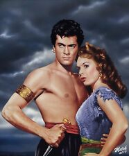 Tony Curtis - The Prince Who Was a Thief (1951) 8 1/2 X 11 Metek09 Artwork
