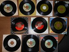 70/80's Records 45 RPM ALICE COOPER Lot of 10 different records Lot A
