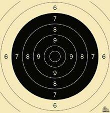 Schießscheiben KK-Scheibe Gewehr 100 m Freie- Sportpistolen 26x25,2cm 250 Stück