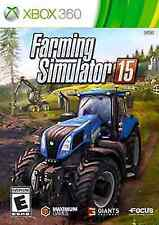 Farming Simulator 15 - Xbox 360, New Xbox 360, Xbox 360 Video Games