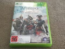 Assassins Creed - Birth Of A New World : The American Saga | Xbox 360 | Complete