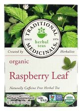 Traditional Medicinals - Organic Raspberry Leaf Tea - 16 Tea Bags