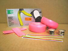 New-Old-Stock Casiraghi Padded Bar Wrap (Neon Pink) w/End Plugs...One Package