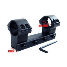 1PC 25.4mm Ring 11mm Dovetail Rail High Mount For Rifle Scope Profile Top Sale