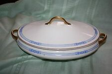 VINTAGE OVAL CASSEROLE SERVING DISH WARWICK CHINA WHEELING WV