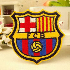 FCB Football LOGO Embroidered Iron On / Sew On Patch