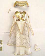 Tenue outfit fashion BARBIE déesse goddess grec grecque grecian greek - 4 pièces