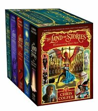 The Land of Stories Hardcover Gift Set by Chris Colfer [Hardcover] Oct. 18, 2016