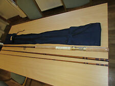 unused bruce walker hexagraph cane effect salmon fly fishing rod V rare 16ft 6""