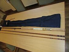 "unused bruce walker hexagraph cane effect salmon fly fishing rod V rare 16ft 6"""