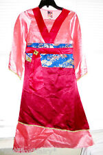 Disney Store Princess Mulan Matchmaker Gown Halloween Dress Up Costume M 7/8