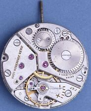 Jules Jurgensen Peseux 320 60s Vintage 10.5L 17j Movement for Parts/Repairs