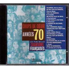 CD Les plus belles chansons francaises coups de coeur années 70 REGINE CORDY