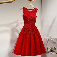 New Chiffon Short Bridesmaid Dress Formal Prom Party Cocktail Evening Gown