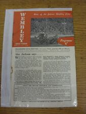 03/07/1947 Speedway Programme: Wembley v New Cross [British Cup] (Folded, Crease