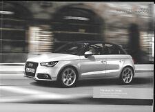 AUDI a1 série complète Prix & spécification catalogue de vente octobre 2012