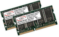 2x 512MB = 1GB Notebook Speicher 133 Mhz PC133 SODIMM