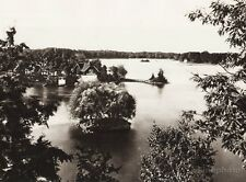 1925 CANADA ~ Bonnie View Island Ontario Thousand Islands House Seascape Photo