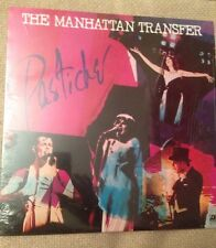 THE MANHATTAN TRANSFER - Pastiche - 1978 Vinyl LP - Open Shrink Wrap- Altlantic