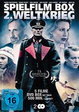 5 Kriegsfilme SPIELFILM BOX 2. WELTKRIEG Colditz EICHMANN Todeskommando DVD Neu