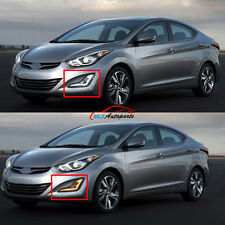 LED Daytime Running Light Fog Lamp With Turn Sign For Hyundai Elantra 2012- 2015