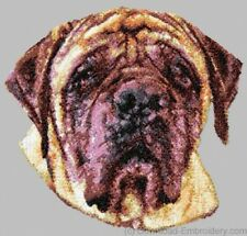 Large Embroidered Zippered Tote - Mastiff DLE1621