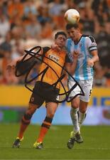 HULL: GREG LUER SIGNED 6x4 ACTION PHOTO+COA