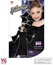 Childrens Spider Vampire Fancy Dress Costume Girls Halloween Outfit 158Cm