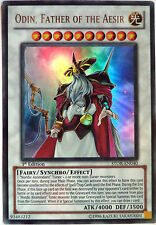 YUGIOH ODIN, FATHER OF THE AESIR STOR-EN040 1st EDITION ULTRA RARE