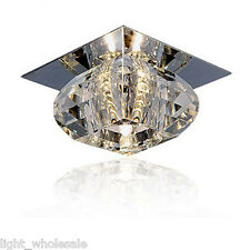 New Modern Glass Pendant Lamp Ceiling Light Fixture Lighting LED Chandelier