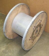 """STEEL / WOOD CABLE WIRE REEL SPOOL 22"""" DIA. X 13 1/4"""" WIDTH LOT OF 20"""