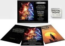 Star Wars: The Force Awakens (DVD, Digital HD Copy Only) Brand New Sealed
