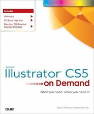 Adobe Illustrator CS5 on Demand Johnson, Steve, Perspection Inc. Paperback
