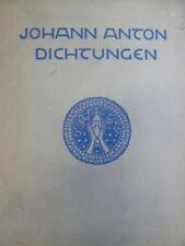 Literatur, Johann Anton, Literatur klassische Moderne,